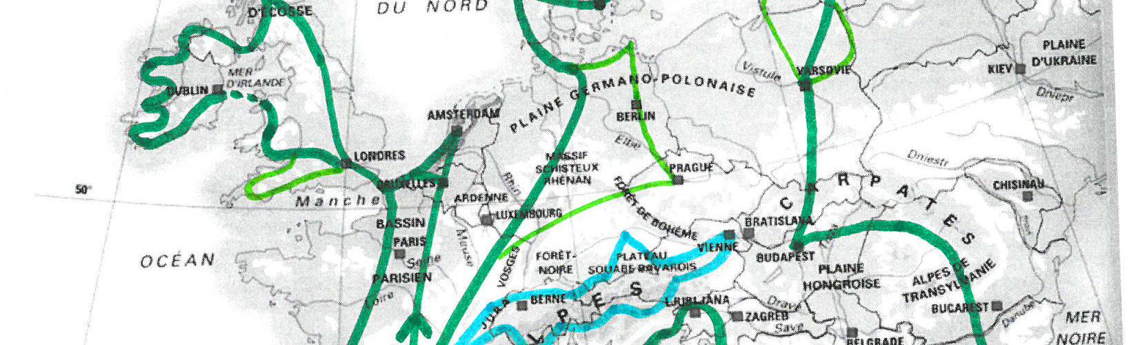 Tadam, voici notre… itinéraire !
